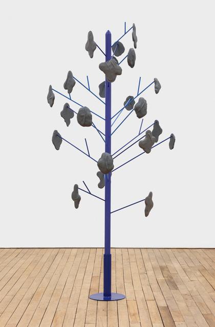 , 'swipe puddle tree,' 2018, Rachel Uffner Gallery