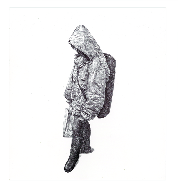, 'MTA Rider (Big Coat Girl),' 2016, Subliminal Projects