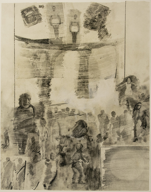 Robert Rauschenberg, 'Dante's Inferno - Canto XX, The Fortune Tellers & Diviners, a Lithograph by Robert Rauschenberg', 2017, White Cross