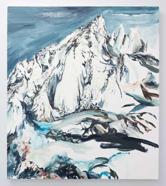 Elisa Johns, 'Feather Pass', 2019, Painting, Oil on canvas, Morgan Lehman Gallery