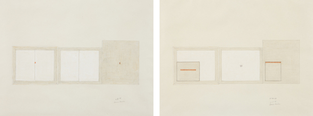Bruce Boice, 'Untitled (4-8-74); and Untitled (5-30-74)', 1974, Phillips