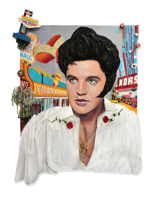 , 'Elvis in Vegas,' 2018, THE WHITE ROOM GALLERY