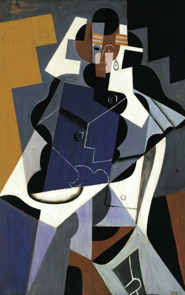 Juan Gris, 'Woman,' 1915-1917, Art History 101