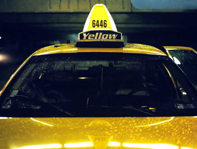, 'Yellow Cab (Taxi Series),' 2004, Wirtz Art