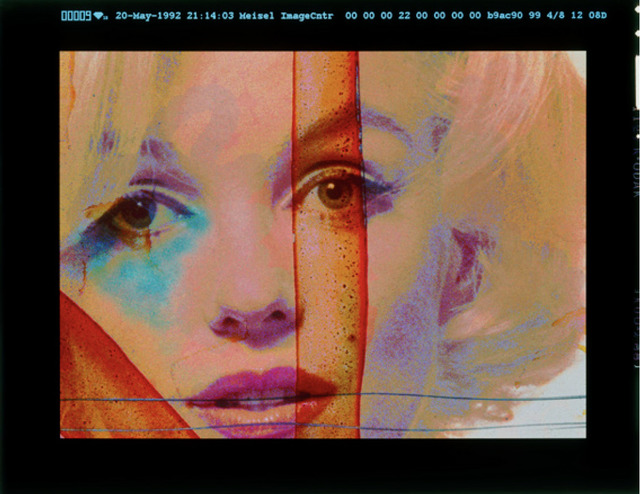 Bert Stern, 'Marilyn Monroe, Crucifix Portrait , Color Silkscreen from The Last Sitting', 1962, Keyes Art