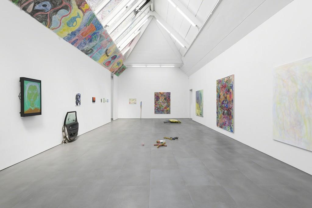 Max Brand, Joanne Robertson and Jasper Baydala, Villagy Trilogy, exhibition view at carlier | gebauer, 2018