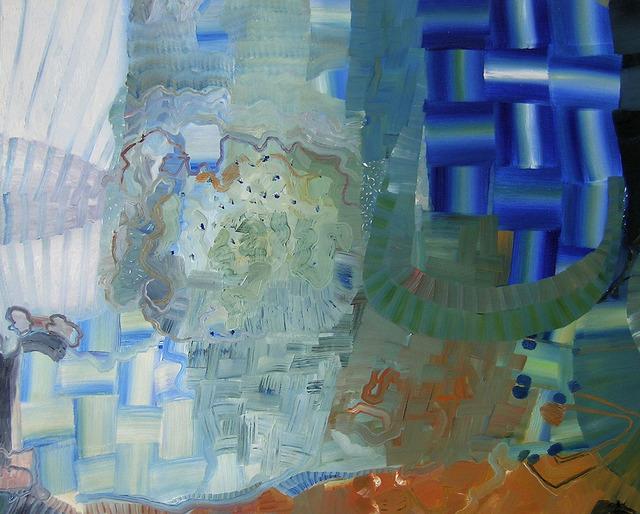 , 'BacklitBlue,' 2013, Kathryn Markel Fine Arts