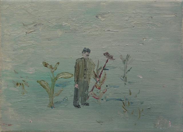 , 'Man In Garden,' 2018, Galerie Bart