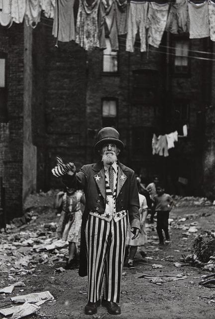 , 'Max Maxwell Landar, Uncle Sam, N.Y.C.,' 1961, Steven Kasher Gallery