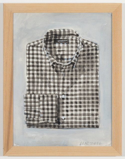 , 'Land's End Radiant Black Gingham,' 2016, Johannes Vogt Gallery