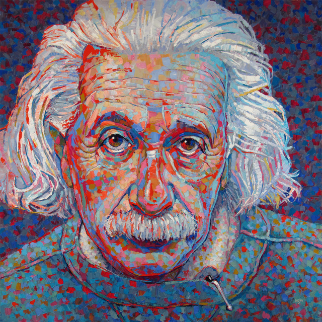 , 'Albert Einstein,' 2018, George Billis Gallery