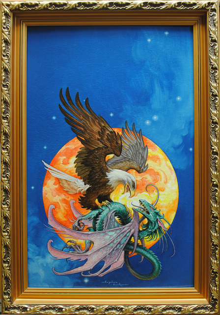 , 'Eagle and Dragon,' , IX Gallery