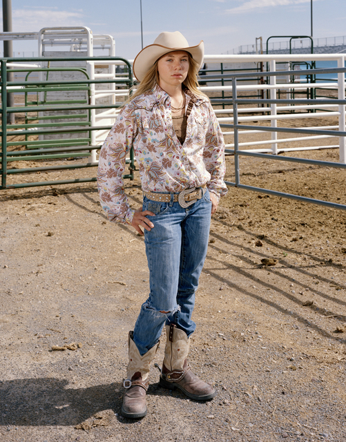 , 'Junior Rodeo Cowgirl,' 2008, Benrubi Gallery