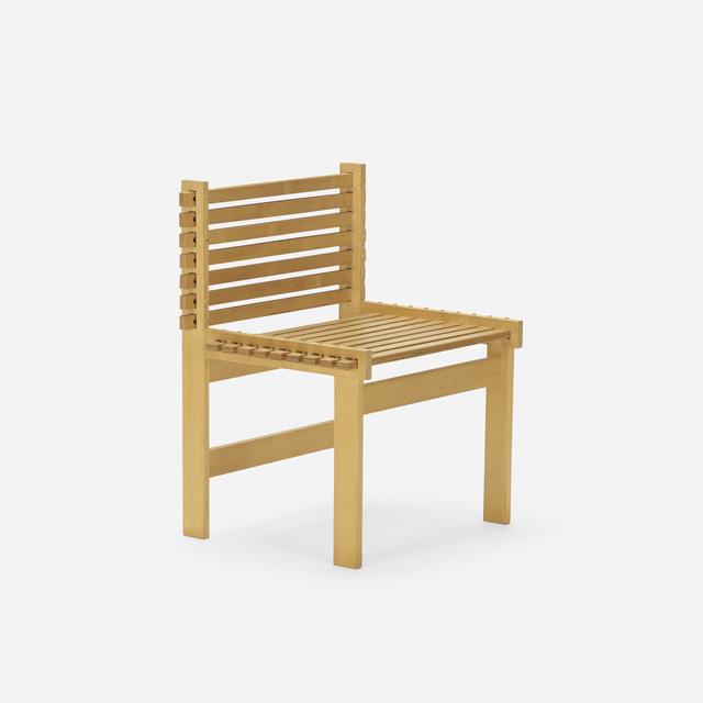 Gunnar Aagaard Andersen, 'Lamella chair', c. 1985, Wright