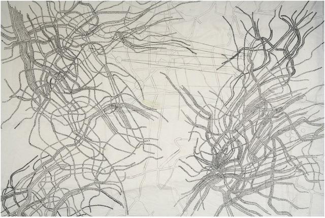, 'Map #1,' 2006, Mor Charpentier