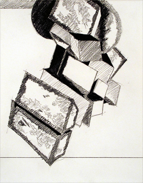 Jose M. Ciria, 'London Boxes Drawings', 2014, Blanca Soto Arte