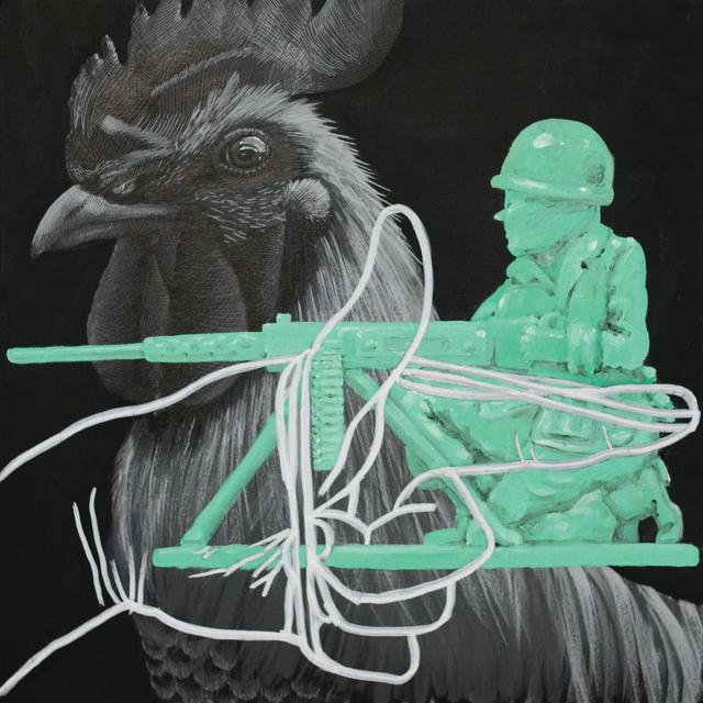 , 'Cocked,' 2017, Coagula Curatorial