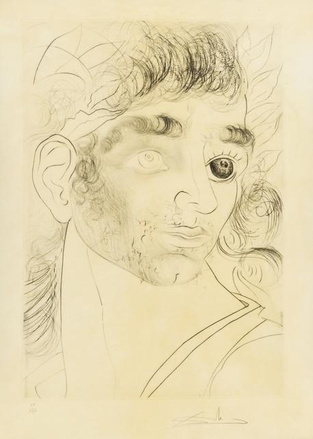 Salvador Dalí, 'Comment sont ses yeux... (M&L 597; Field 73-8.L)', 1973, Print, Engraving, Forum Auctions