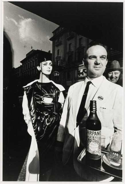 Jeanloup Sieff, 'Waiter Carrying Carpano', 1963, Hamiltons Gallery