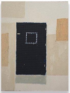 Francesca Reyes, 'Door #34', 2019, Painting, Oil, acrylic, pastel, & plastic on panel, Deep Space Gallery