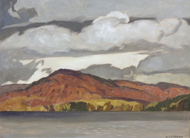 , 'October - Penn Lake,' 1972, Madrona Gallery