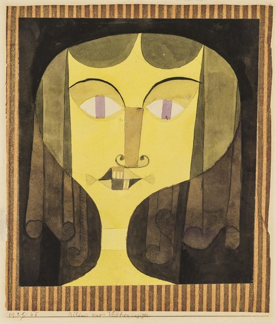 , 'Portrait of a Violet-Eyed Woman,' 1921, Galerie Thomas