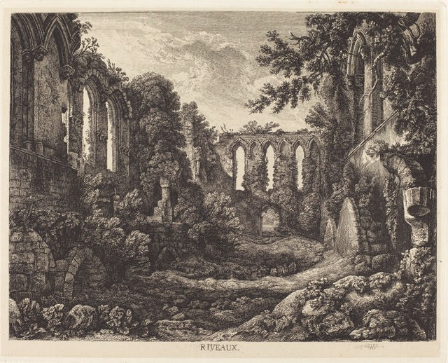 George Cuitt the Younger, 'Riveaux', 1825, Print, Etching on papier mince, National Gallery of Art, Washington, D.C.