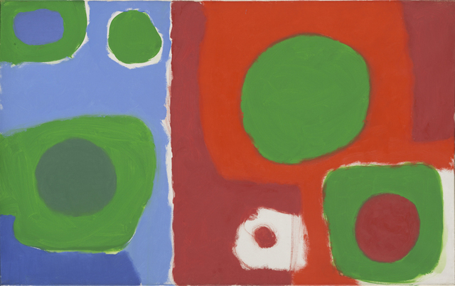 , 'Soft Green in Reds and Blues: December 1962,' 1962, Waddington Custot