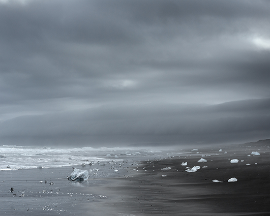 , 'Luminous Icescape No.16,' 2013, DELAHUNTY