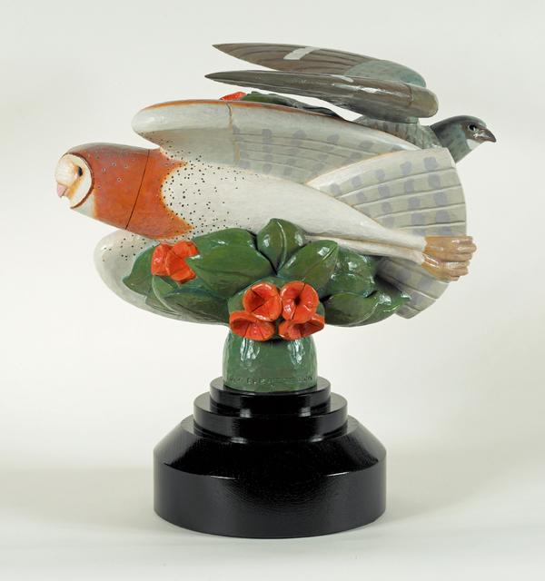 David Everett, 'Eventide', 2015, Sculpture, Polychromed mahogany, Valley House Gallery & Sculpture Garden