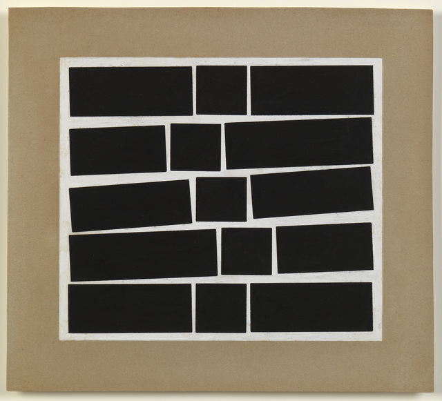 , 'Metaesquema 464,' 1958, Whitechapel Gallery