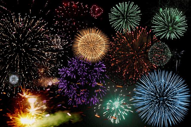 , 'Visual Orgasms 'Fireworks',' 2013, Transfer Gallery