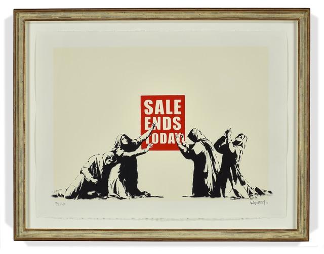 Banksy, 'Sale Ends', 2006, DELAHUNTY