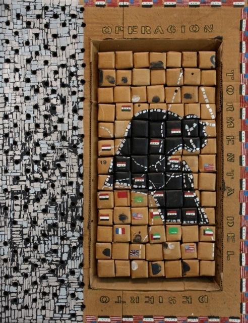 , 'Souvenir Series: Tormenta del Desierto,' 1992, Sicardi Gallery