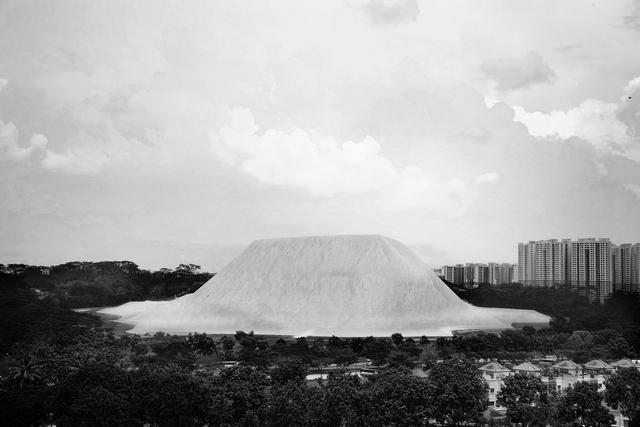 , 'Bukit Panjang-Sand from Ulu Tiram,' 2014, ShanghART