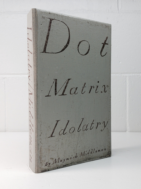 , 'Dot Matrix Idolatry,' 2014, Jeff Bailey Gallery