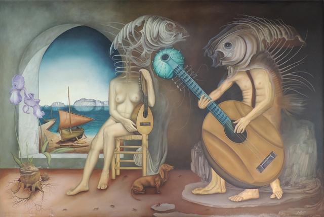 , 'El concierto,' 1977, Gaudifond Arte