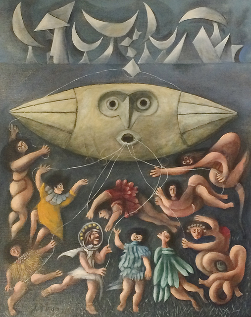 , 'Lords of the Sky,' ca. 1950, Caldwell Gallery Hudson