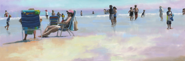 , 'Beach Gossip,' 2013, Paul Thiebaud Gallery