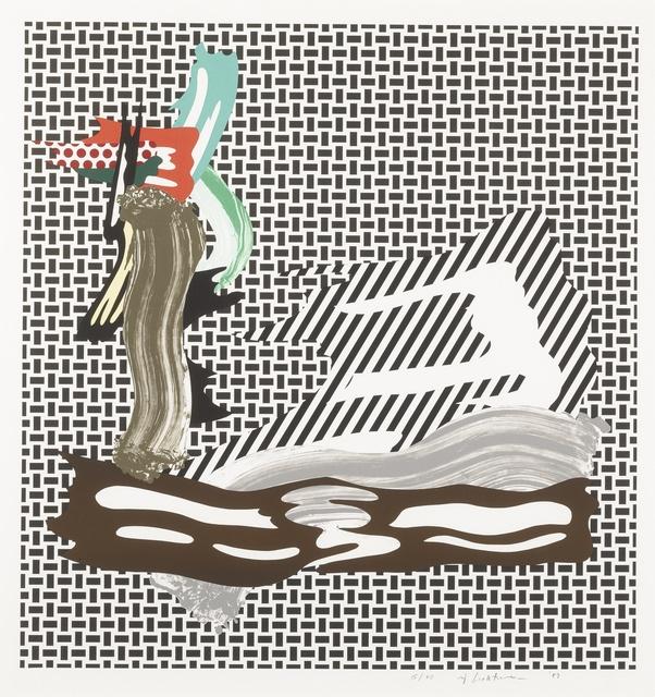 Roy Lichtenstein, 'Brushstroke on Canvas (C. 234)', 1989, Sotheby's