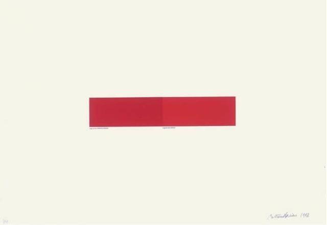 , 'Rouge de Chine,' 1998, artrepublic
