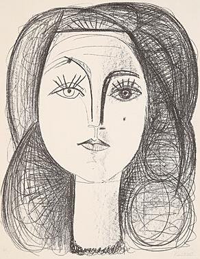, 'Françoise,' 1946, Galerie Boisseree