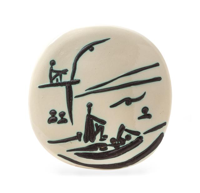 Pablo Picasso, 'Beach Scene', 1956, Hindman