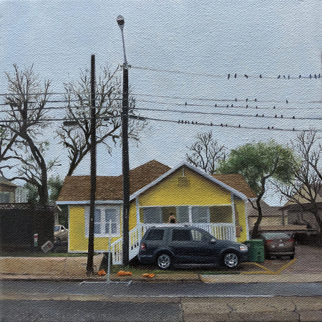 , 'The Yellow House on Welch ,' 2018 , Ro2 Art