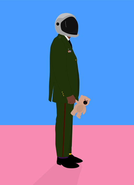 , 'Nigerian Soldier With Teddy,' 2018, Galerie Liusa Wang