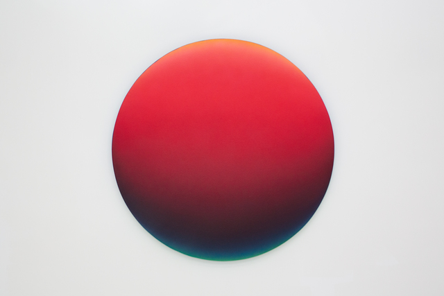 , 'Red Gradient 1242pm,' 2018, Mirus Gallery