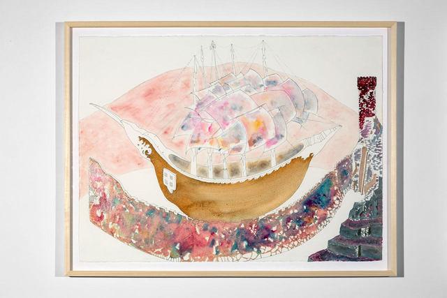 , 'Cabaret Crusades Drawing #320,' 2018, Lia Rumma
