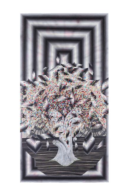 , 'Broken Pattern (White Tree),' 2016, Joshua Liner Gallery
