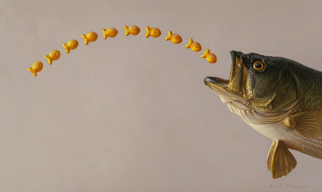 , 'Largemouth Bass,' 2018, Jenkins Johnson Gallery
