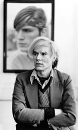 Andy Warhol in his New York Studio, No. 1